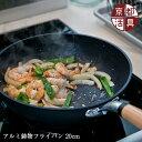 京都活具 アルミ鋳物フライパン 20cm