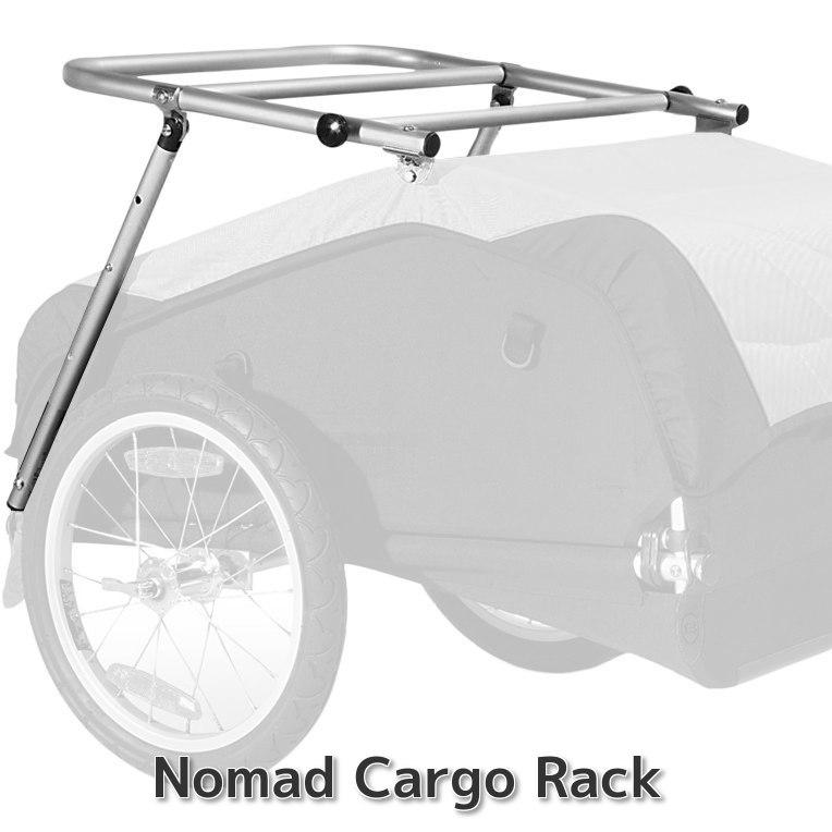 BurleyNomad Cargo Rack:カーゴラック・こだわりのサイクリスト必携・積載量アップで大人数キャンプに対応。