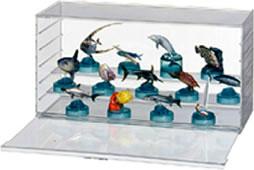 コレクションケース ミニカーケース ひな壇 スタックスクエアーユニット...:fairy-land:10001023