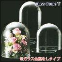 ガラスドーム ディスプレイ 日本製 T14 ガラス台座なしタイプ