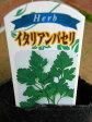 ハーブ苗 1,2年草 イタリアンパセリ 3号ラベル付き苗