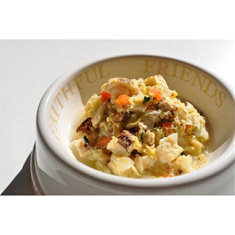 国産大豆の焼豆腐と山梨産平飼い卵の中華風スープ(ドッグフード)(小)