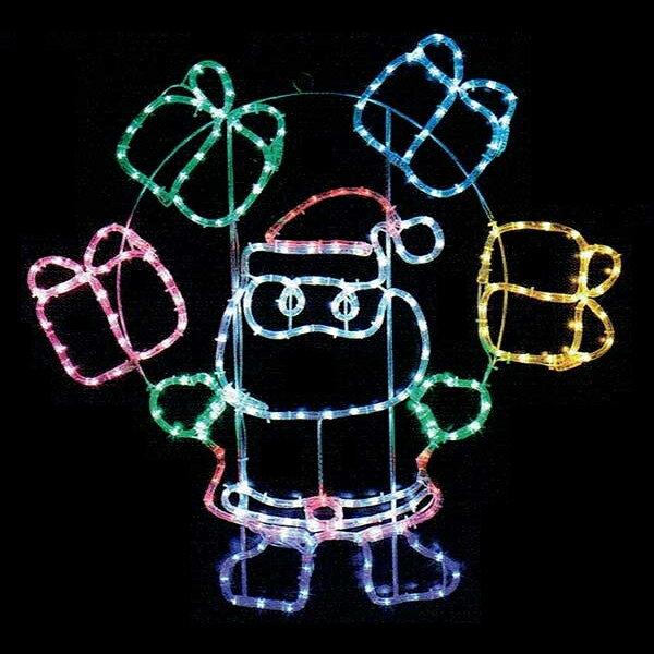 LEDチューブライト サンタプレゼントボックス wg-53039ir 送料無料 P11Sep16