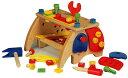 【送料無料】木製大工さんのベンチ ツールセット 【男の子、保育園、幼稚園】 P11Sep16