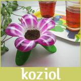 koziol AUDREY MURANO Tea Strainer ティーストレイナー(茶こし) 「ホワイト/ピンク」【RCP】.