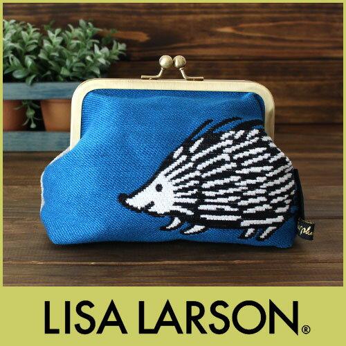 【 メール便 可 】 リサ ラーソン ( LISA LARSON ) ゴブラン織り 口金ポーチ / ルック ハリエット  .