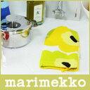 マリメッコ ( marimekko ) PIENI UNIKKO ( ピエニ ウニッコ ) Oven mitten オーブン ミトン / ライトグリーン・イエロ...