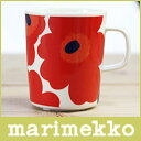 marimekko(マリメッコ)/マリメッコ ウニッコ マグカップ/レッド.