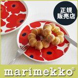 marimekko ( �ޥ��å� ) �ץ졼�� �� Unikko ( ���˥å� ) �ץ졼�� ��20cm �ۥ磻�ȡ���å� ��RCP��.
