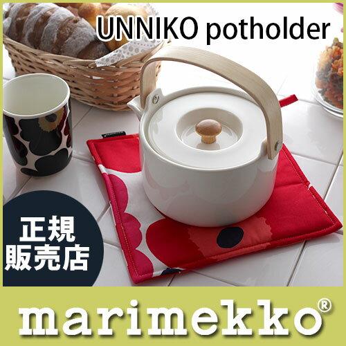 マリメッコ ( marimekko ) Pot holder ポットホルダー PIENI UNIKKO ピエニ ウニッコ/レッド .