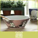 【 送料無料 】【 正規販売店 】アラビア ( ARABIA ) ムーミン ( MOOMIN ) ボウル 15cm / ピンク ( LOVE ) 【RCP】.