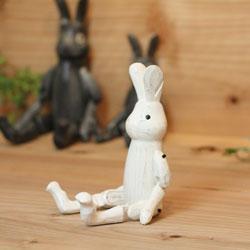 polepoleぽれぽれ不思議の国のウサギ/ホワイトSサイズ.