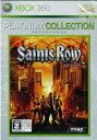 (XBOX360)(新品)Saints Row(セインツロウ)(Xbox360プラチナコレクション)(メール便なら送料無料)
