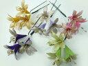 髪飾り◆結婚式・成人式・正月・七五三◆ちりめん髪飾り・オニピン アガパンサスの花 3輪