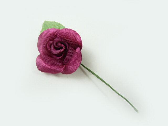 【アウトレット】造花 ワインローズリーフ付(1個...の商品画像