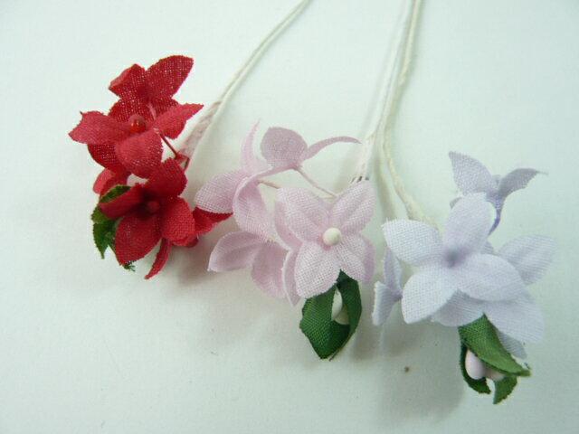 造花◆プレゼントやギフトにアートフラワーを添えて◆ラッピング フラワー 小花210★特価★アウトレット・超特価