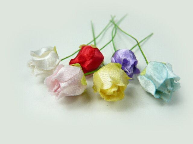 【アウトレット】造花・ラッピング フラワー バラ401 髪飾りの作り方を動画で紹介