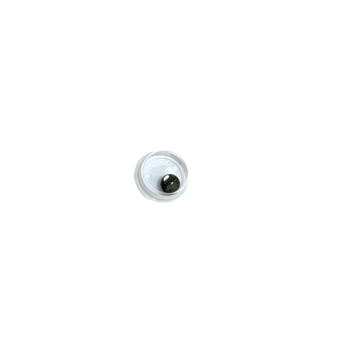 動眼 4mm球目玉(1個) 活眼・ムービングアイ 手作りのお人形や動物に動く目玉