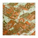 和紙・手芸材料◆ラッピングや和紙工芸・和紙人形・和紙の花やちぎり絵に使いやすい千代紙の大きさにカット◆和紙 白緑・のれん文様