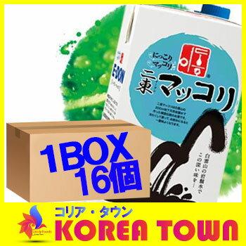 【E-DON】(二東/イードン)マッコリ(紙パック)1000mlx16個