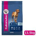 【正規品】ユーカヌバ ラージ シニア シニア用 大型犬用 5歳以上 13.5kg(10100143)●