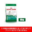 【正規品】ロイヤルカナン ミニアダルト8+ 8kg小型犬高齢犬用:8歳以上(52901094)