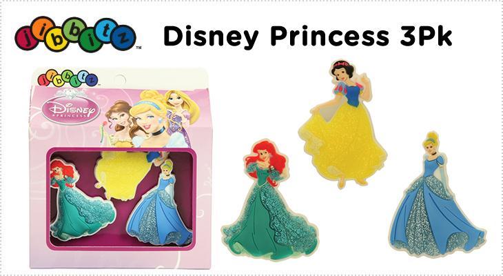 【クロックス jibbitz ジビッツ】Disney_princess_3pack