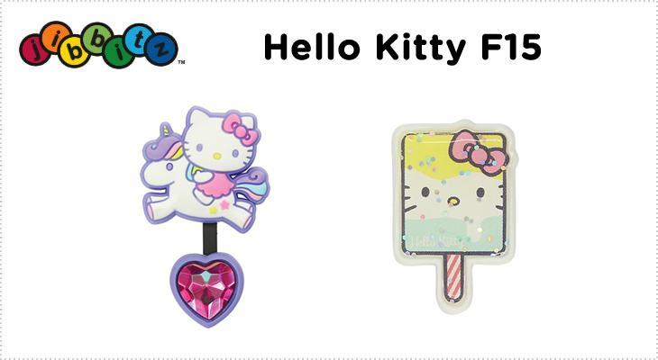 50%OFF【クロックス jibbitz ジビッツ】Hello kitty F15ハローキティー