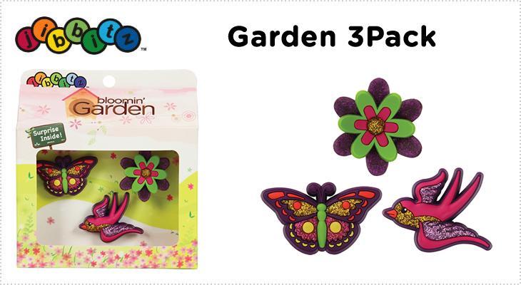 【クロックス jibbitz ジビッツ】Garden 3pack/ガーデン