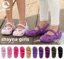 crocs【クロックス キッズ】 shayna girls/シャイナガールズ