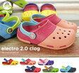 ショッピングCROCS crocs【クロックス キッズ】 electro2.0clog/エレクトロ2.0クロッグ