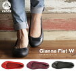ショッピングCROCS crocs【クロックス レディース】 gianna flat /ジアンナ フラット