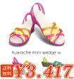 ショッピングウエッジ crocs【クロックス レディース】 huarache mini wedge/ワラチェ ミニ ウェッジ