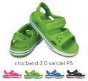 crocs【クロックス キッズ】crocband2.0 sandal/クロックバンド2.0 サンダル