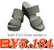 crocs【クロックス レディース】leigh2.0 2-strap wedge/レイ2.0 2ストラップ ウェッジ ウィメン