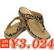 crocs【クロックス レディース】sloane leopard flip/スローン レオパード フリップ ウィメン