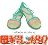 crocs�ڥ���å�������ǥ�������isabella sandal w/�����٥� ������� �������