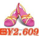 crocs【クロックス レディース】 huarache flat/ワラチェ フラット