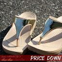 【クロックス crocs 】 sloane embellished flip/スローン エンベリッシュド フリップ ウィメン