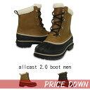 【クロックス crocs 】 allcast2.0 boot men/オールキャスト ブーツ メン