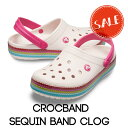●【クロックス crocs 】crocband sequin...
