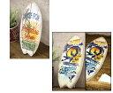 送料無料 ★【Antique WoodBoard】レトロ調★ウッドサーフボード★ アンティーク 置物 アンティーク サーフボード