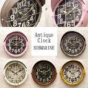 送料無料 ★アンティーククロック ★サブマリン★ 【Antique Clock Submarine】 時計 アンティーク