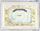 【Disney】ディズニー MyDarling 結婚式 ウェルカムボード フラワータイプ(時計付き)