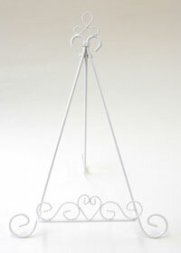 Mini easel L size, wedding welcome Board