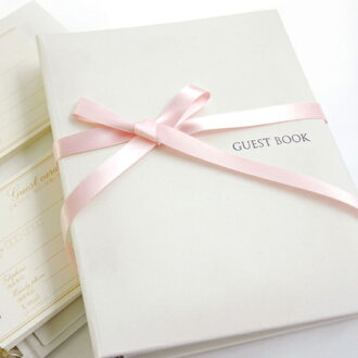 Guest book Luce チェキタイプ ( cheque card 60 dated ) / non / Wedding guest books guestbook