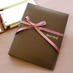 'Disabled' guest book Mocha チェキタイプ ( cheque card 60 dated ), wedding guest book guest book