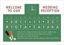 [手作り応援!!]ウェルカムボード手作り用デザインペーパー ベースボール野球(A3/ブラック&オレンジ)/結婚式ウェルカムボード