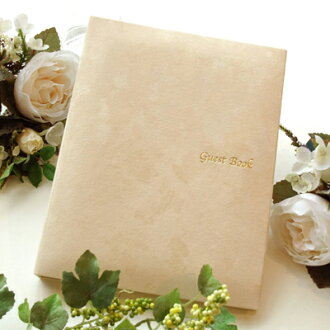 Guest book fairy standard card types ( 60 cards, Ribbon without ) Wedding guest book guest book