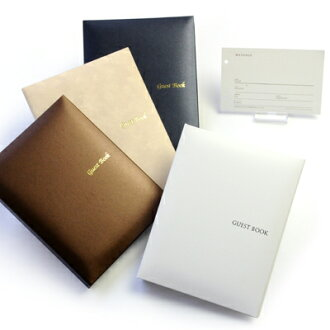 'Disabled' guest book 2 book set standard card types, wedding guest book guest book